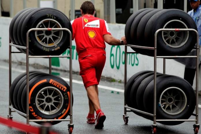 Ferrari-Pirelli Tyres