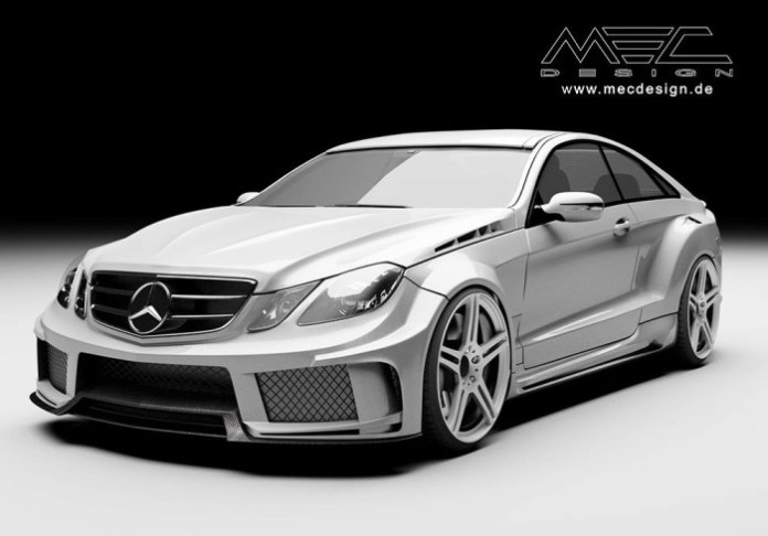 Mercedes-Benz E-Class Widebody by MEC Design (1)