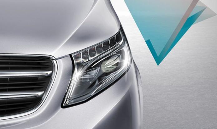 Mercedes-Benz V-Class teaser