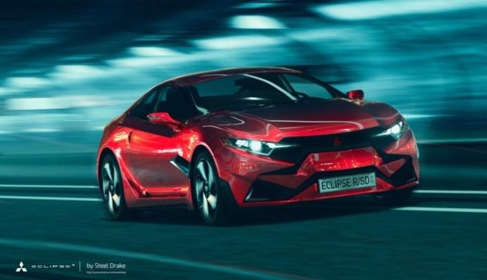 Mitsubishi Eclipse RSD 2015 Concept Study (1)
