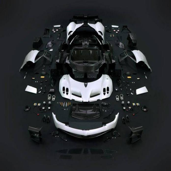 Pagani Huayra Miniature by AUTOart (1)