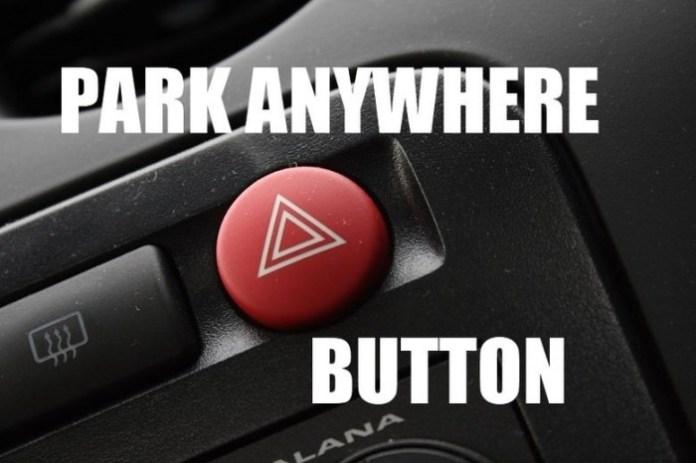 Park anywhere button