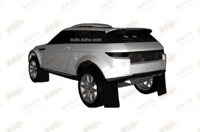 Rally-spec Range Rover Evoque patent photo (4)