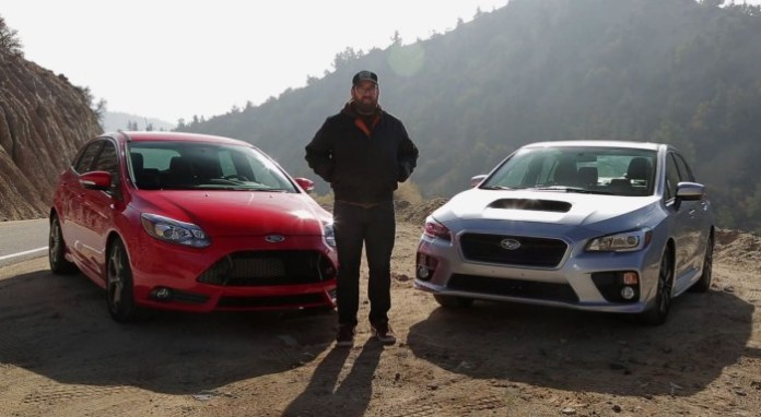 2015 Subaru WRX vs 2014 Ford Focus ST