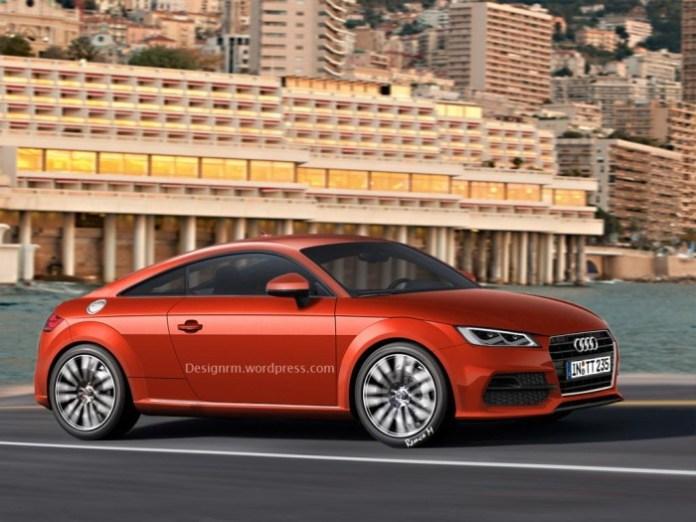 Audi TT Rendering 1