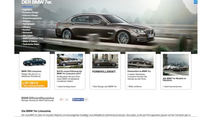 BMW 720i screenshot