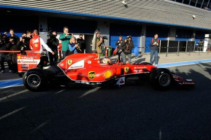 F14 T Ferrari Jerez