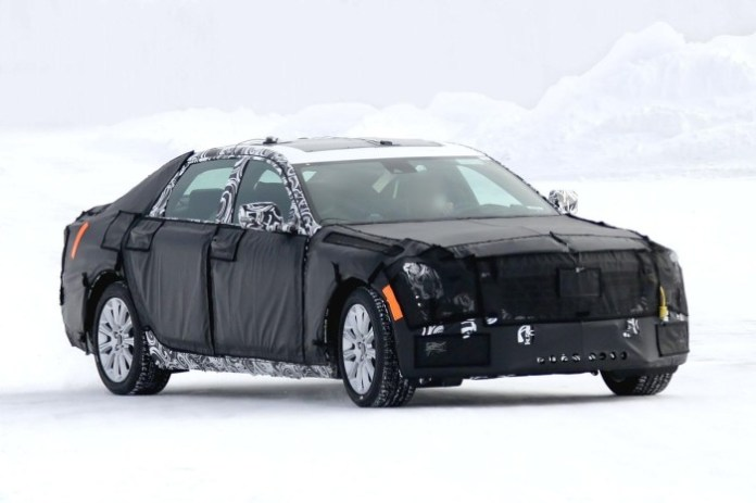 Cadillac flagship Spy Photos (5)
