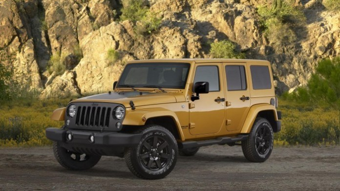 Cherokee, Grand Cherokee and Wrangler Altitude Editions 7