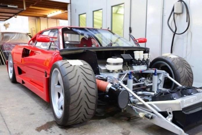 Ferrari F40 LM restoration (81)