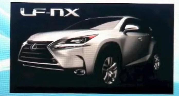 Lexus LF-NX possible production version