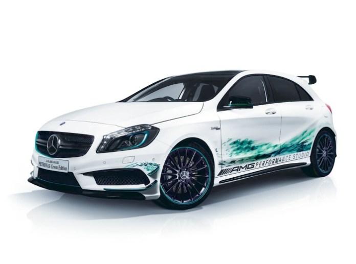 Mercedes-Benz A45 AMG Petronas Green Edition 1