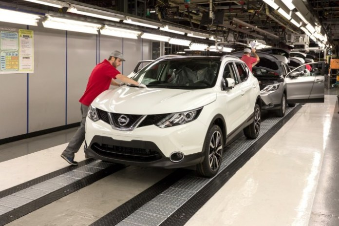 Nissan Qashqai 2014 production starts (82)