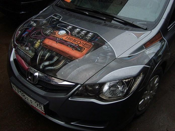Russia Airbrush Cars (17)
