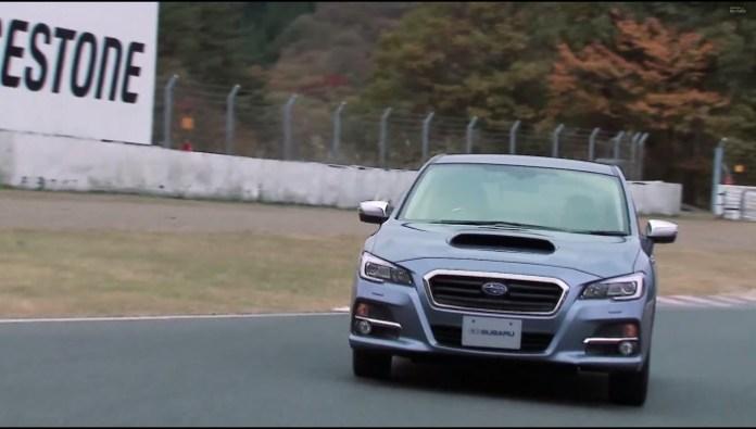 Subaru Levorg hits the track