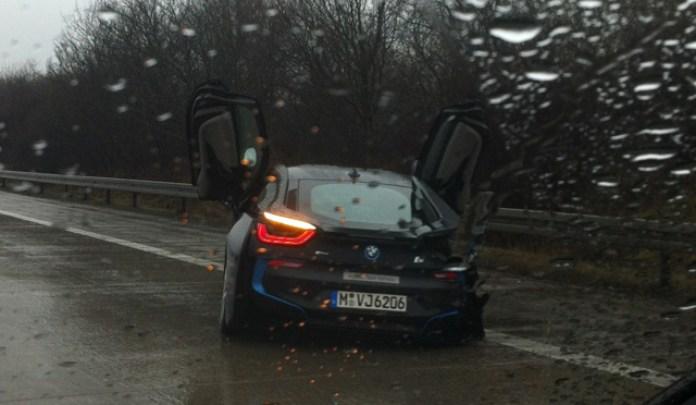 bmw i8 crash germany