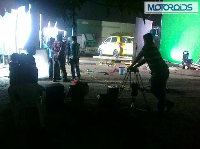 2014 Suzuki/Maruti Celerio spotted during photo session