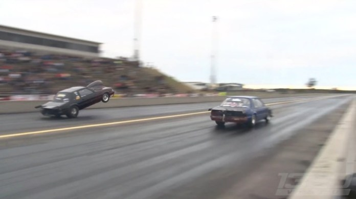 2000hp Mustang tries to fly