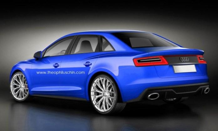 Audi A4 2014 renderings (3)