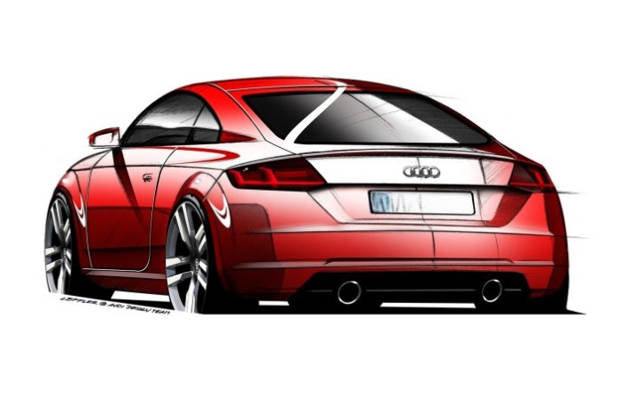Audi-TT design sketches