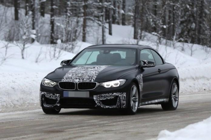 BMW M4 Convertible Spy Photos (1)