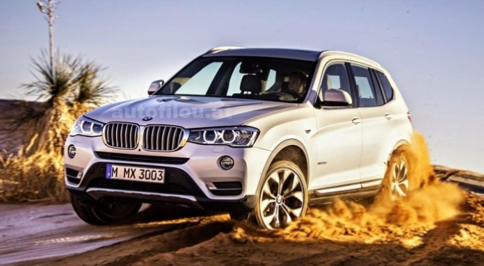 BMW X3 facelift 2014 (1)