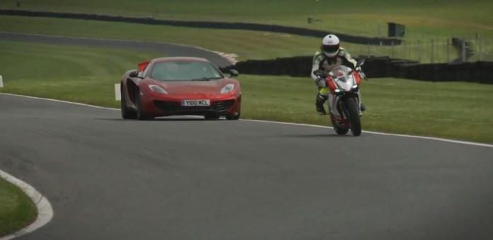 Ducati 1199 Panigale S vs McLaren MP4-12C