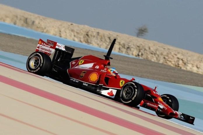 Fernando Alonso Bahrain 2