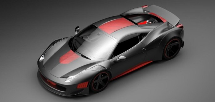 Ferrari F458 Curseive by Vogue Auto Design and Gray Design 3