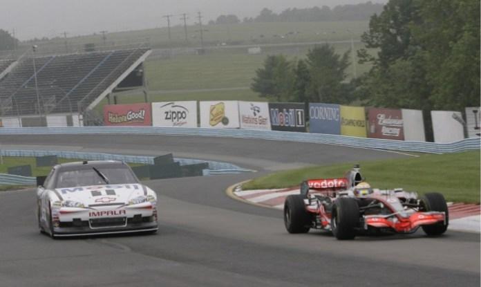 Formula 1 vs NASCAR 2