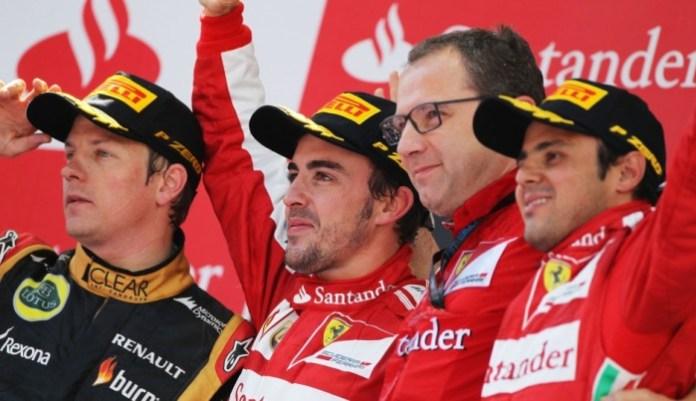 Massa Alonso Raikkonen