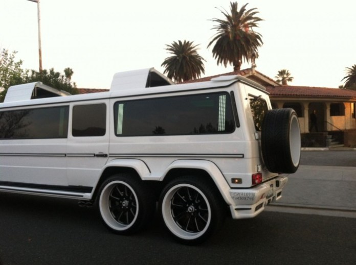 Mercedes-Benz G55 AMG stretched limo 3