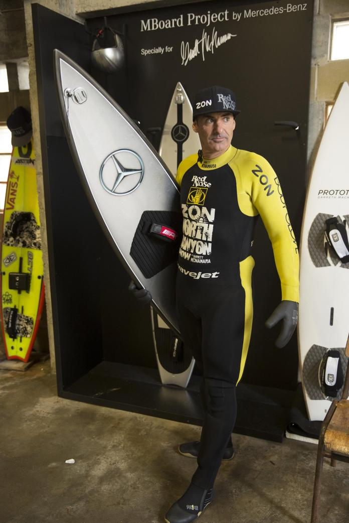 Mercedes-Benz surfboard for Garrett McNamara (2)