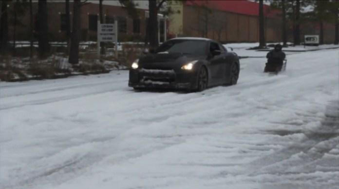 Nissan GT-R sled
