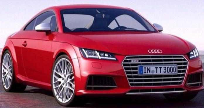 2014 Audi TT-S leaked official photo 1