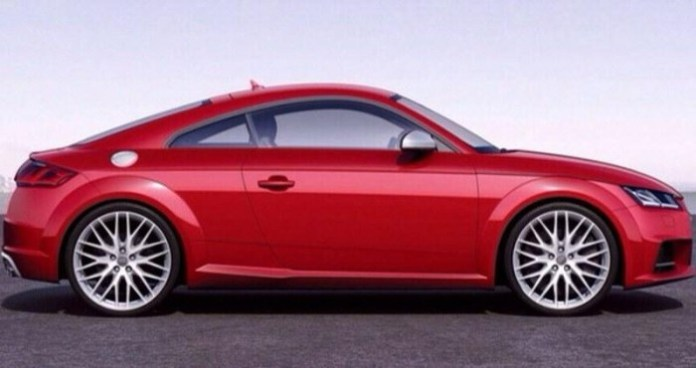 2014 Audi TT-S leaked official photo 2