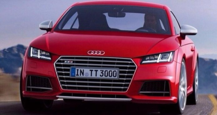 2014 Audi TT-S leaked official photo 3