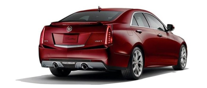 2014 Cadillac ATS Crimson special edition 3