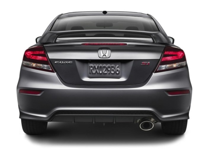 2014 Honda Civic Si Coupe 3