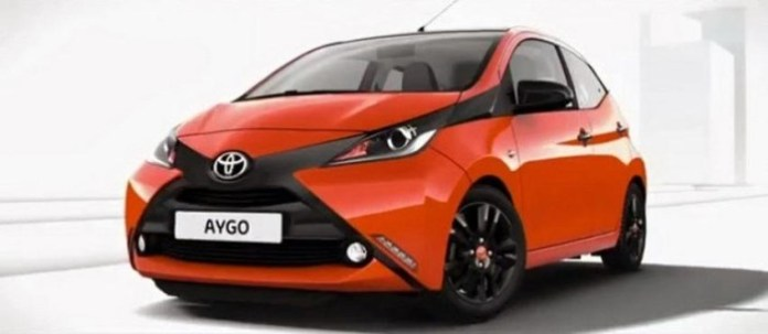 2014 Toyota Aygo leaked photo 3