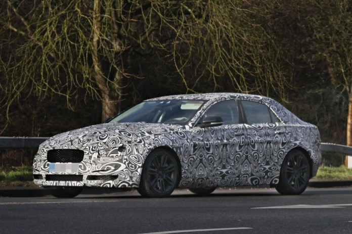 2015 Jaguar XS spy photo (1)