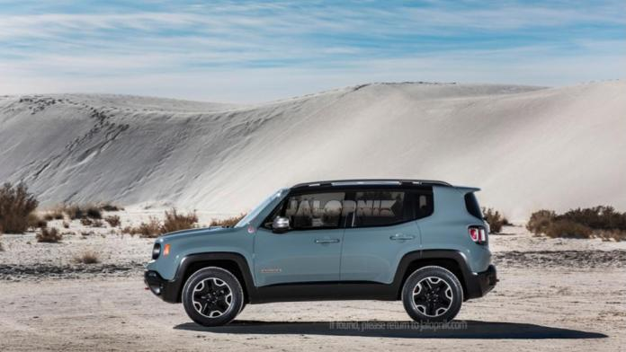 2015 Jeep Renegade official leaked photo (3)