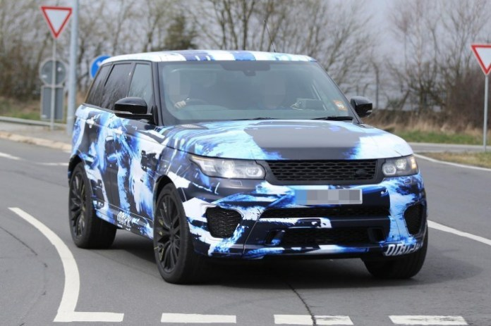 2015 Range Sport RS spy photo