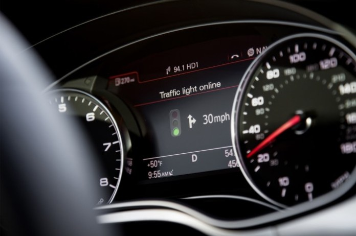 Audi models see the light to trim down traffic queues (2)