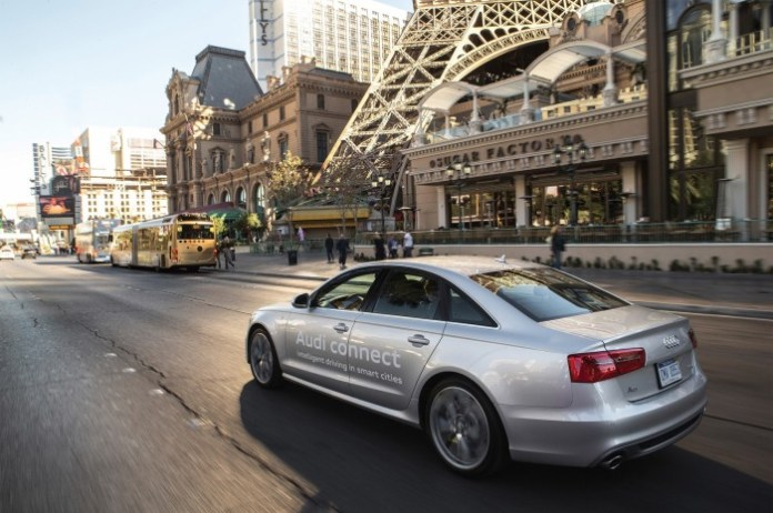 Audi models see the light to trim down traffic queues (3)