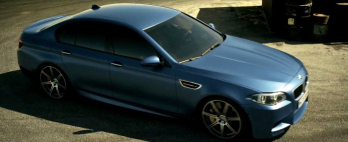 BMW M5. FINALLY UNCHAINED.