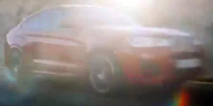 BMW X4 teaser