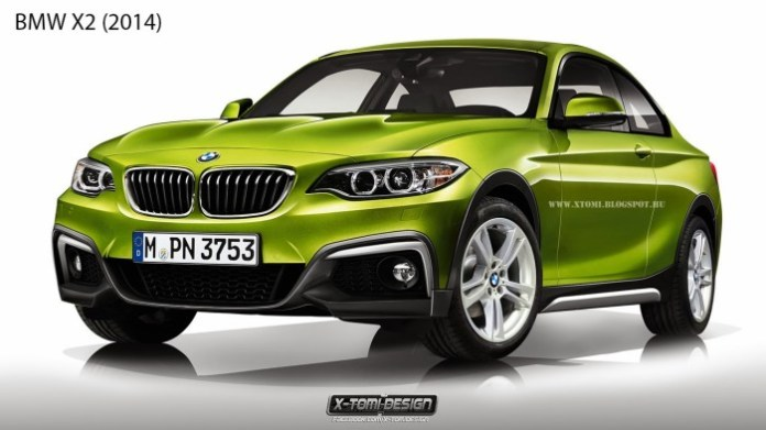 Bmw X2 front2