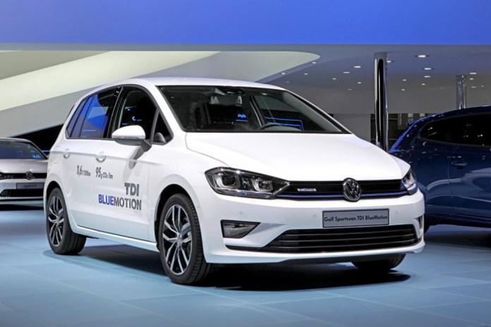 Der neue Volkswagen Golf Sportsvan TDI BlueMotion