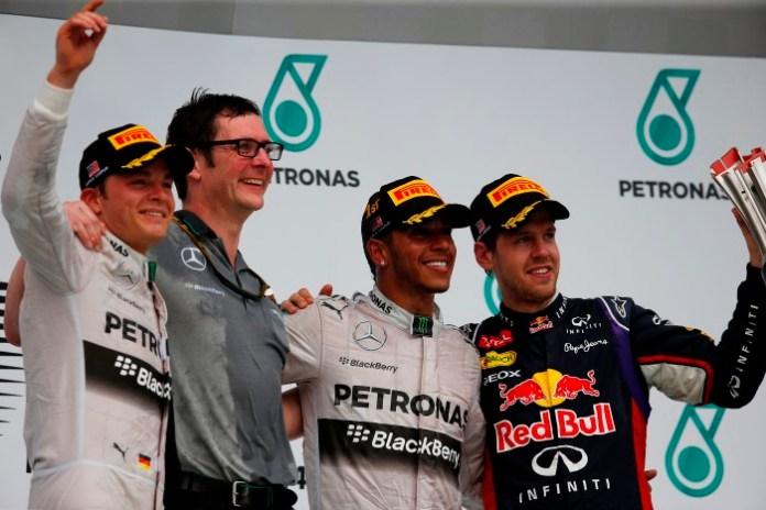F1 Malaysia Podium